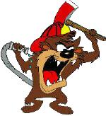 Elba Fire Mascot